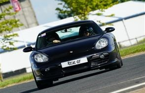 Porsche Cayman S Track Day Car Hire Experience from drivingexperience.com