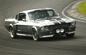 Shelby 'Eleanor' Mustang GT500 Blast Experience from drivingexperience.com