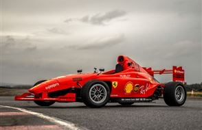Single Seater Thrill Experience from drivingexperience.com