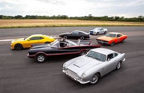 Six Movie Car Blast with High Speed Passenger Ride Experience from drivingexperience.com