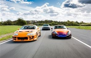 Six Supercar Thrill Experience from drivingexperience.com