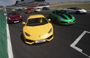Six Supercar Thrill - Anytime Experience from drivingexperience.com