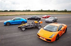 Six Supercar Thrill with High Speed Passenger Ride Experience from drivingexperience.com