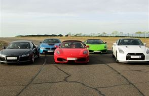 Five Supercar Blast Experience from drivingexperience.com