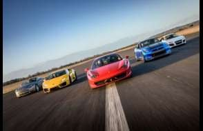 Supercar 5 Blast - Anytime Experience from drivingexperience.com