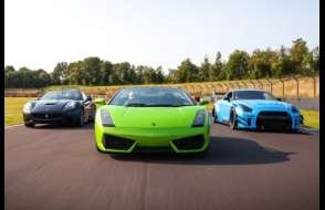 Supercar 5 Thrill - Anytime Experience from drivingexperience.com