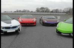 Supercar 6 Thrill - Anytime Experience from drivingexperience.com