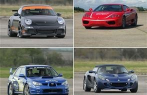 Supercar and Hot laps Experience from drivingexperience.com