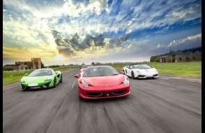 Four Supercar Thrill Experience (Anytime) Experience from drivingexperience.com