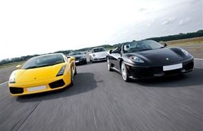 Supercar Four Experience from drivingexperience.com