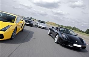 Supercar Treble Experience from drivingexperience.com