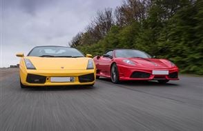 Supercar Treble Offer Experience from drivingexperience.com