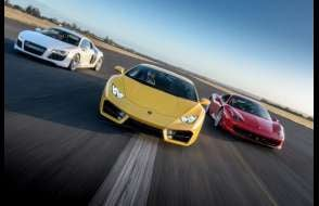 Supercar Triple Blast - Weekday inc High Speed Ride and Photo Print Experience from drivingexperience.com
