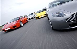 Supercar Triple Blast - Anytime inc High Speed Ride and Photo Print Experience from drivingexperience.com