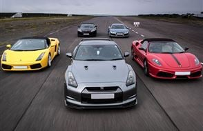 Supercar Treble Taster Offer Experience from drivingexperience.com