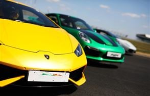 Supercar Triple Thrill - Anytime Experience from drivingexperience.com
