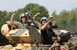 Tank Paintball Battle Experience from drivingexperience.com
