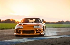Toyota Supra 2JZ Thrill Experience from drivingexperience.com