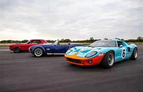 Triple American Muscle Thrill with High Speed Passenger Ride Experience from drivingexperience.com