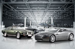 Triple Aston Martin Blast with High Speed Passenger Ride Experience from drivingexperience.com