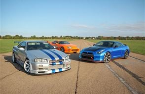 Triple Fast and Furious Thrill with High Speed Passenger Ride Experience from drivingexperience.com