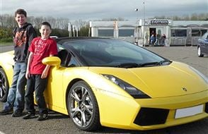 Junior Triple Supercar Thrill - Special Offer Experience from drivingexperience.com