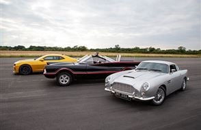Triple Movie Car Thrill with High Speed Passenger Ride Experience from drivingexperience.com