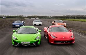 Triple Platinum Supercar Thrill Experience from drivingexperience.com