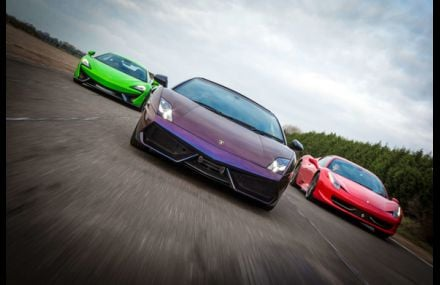 Triple Supercar Blast Experience from drivingexperience.com