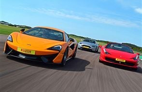 Triple Supercar Driving Experience Experience from drivingexperience.com