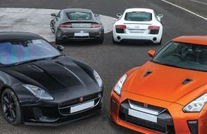 Four Supercar Thrill Experience from drivingexperience.com