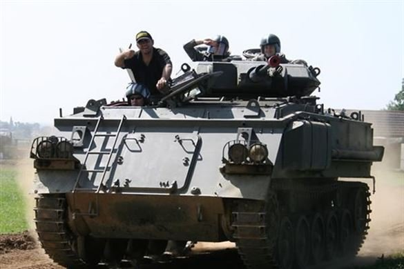 Adult and Child Tank Driving Experience Driving Experience 1