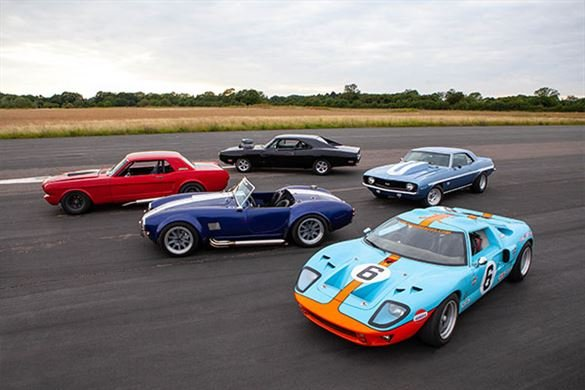 Five American Muscle Blast with High Speed Passenger Ride Driving Experience 1