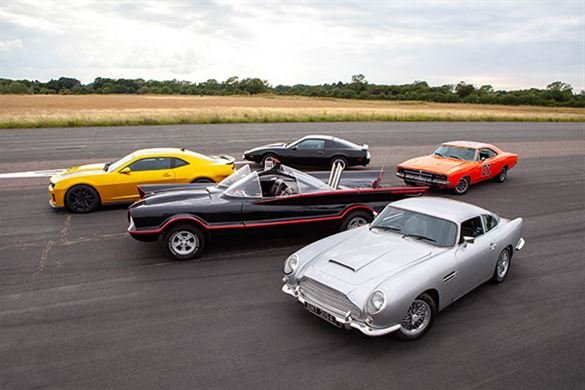 Five Movie Car Blast with High Speed Passenger Ride Driving Experience 1