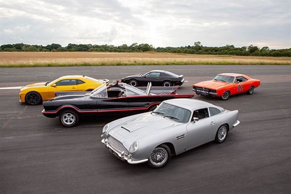 Five Movie Car Thrill with High Speed Passenger Ride Driving Experience 1