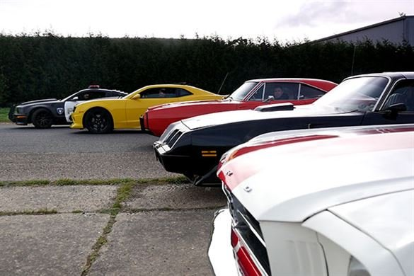 Four Movie Car Blast with Hot Lap Driving Experience 1