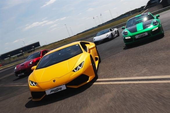 Four Supercar Thrill - Anytime Driving Experience 1