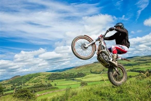 Full Day Motorcycle Trials Course - Weekday Driving Experience 1