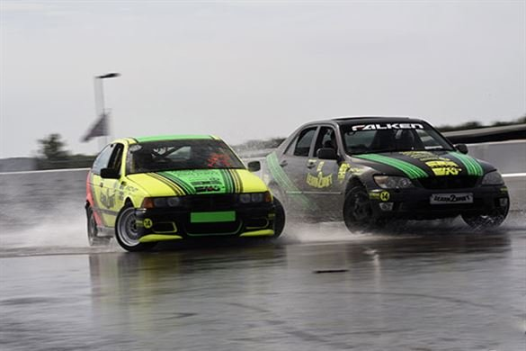 Learn to Drift Half Day Drifting Experience with 6 Passenger Laps Driving Experience 1