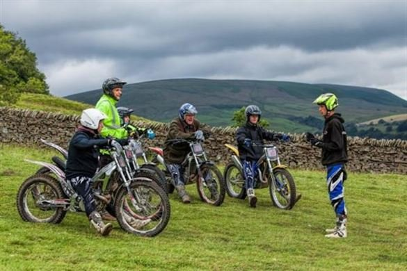 Half Day Motorcycle Trials Course - Weekend Driving Experience 1