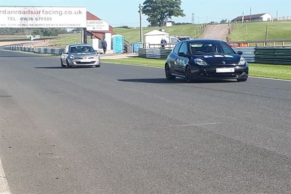 Introduction to Track Driving - Clio - Bronze Driving Experience 1