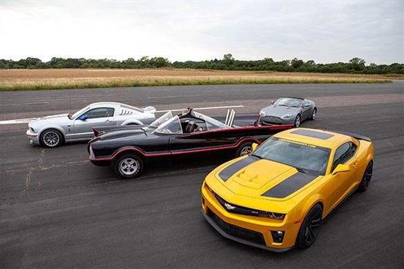 Junior Four Movie Car Blast with High Speed Passenger Ride Driving Experience 1