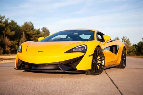 Junior McLaren 570S Thrill with High Speed Passenger Ride Driving Experience 1