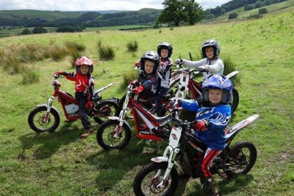 Junior Motorcycle Trials Course Driving Experience 1