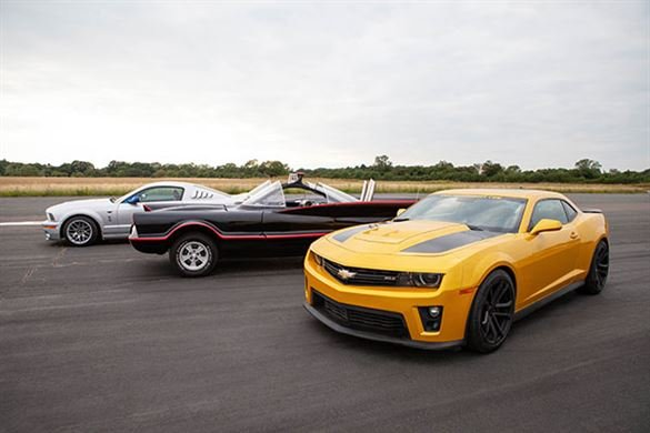 Junior Triple Movie Car Thrill with High Speed Passenger Ride Driving Experience 1