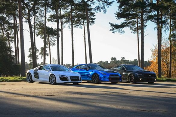 Junior Triple Supercar Blast with High Speed Passenger Ride Driving Experience 1