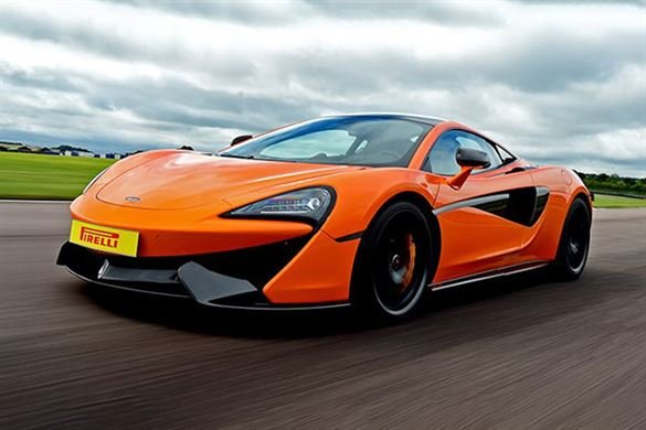 McLaren 570S Thrill Driving Experience 1