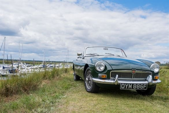 Any MG Anytime Classic Car Hire - Grab the Weather Deal Driving Experience 1