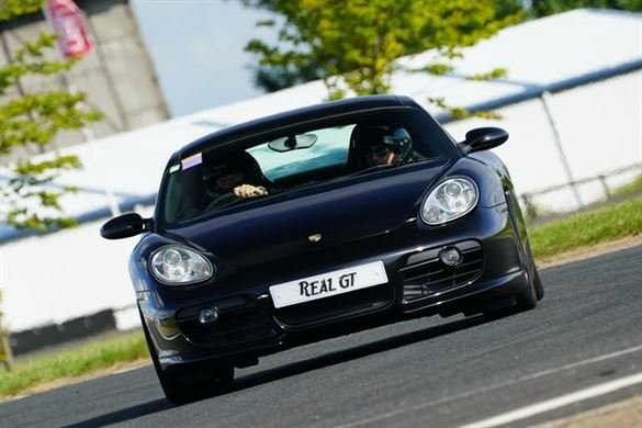 Porsche Cayman S Track Day Car Hire Driving Experience 1