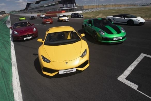 Six Supercar Thrill - Anytime Driving Experience 1
